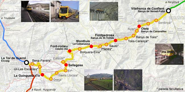 Tren Groc de la Cerdanya